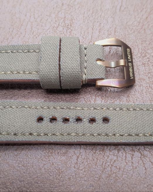 Viribusunitis Watches Uhrband CANVAS in khaki
