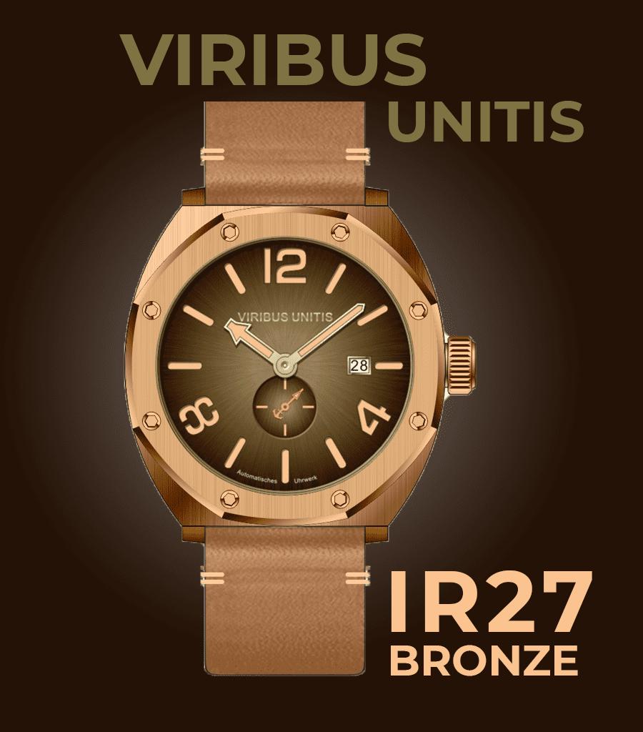 Viribus Unitis IR27 Bronze-Letztstand