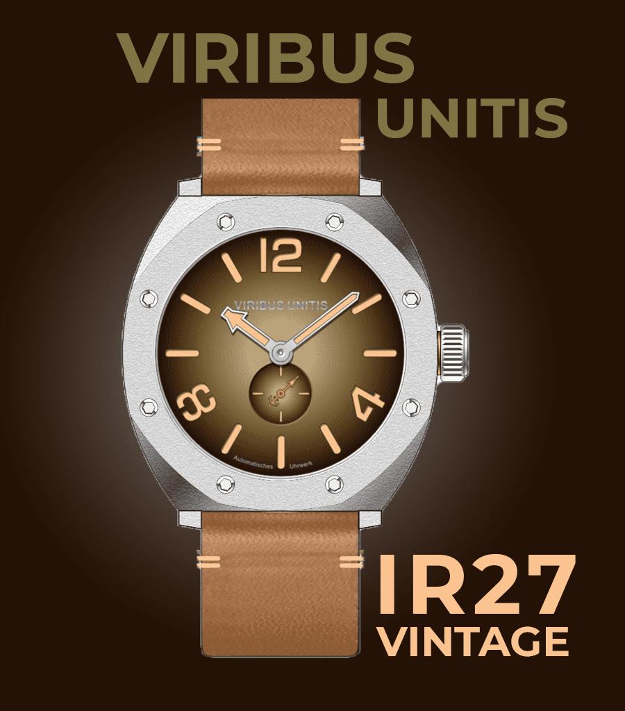 Viribus Unitis IR27 Vintage-Letztstand