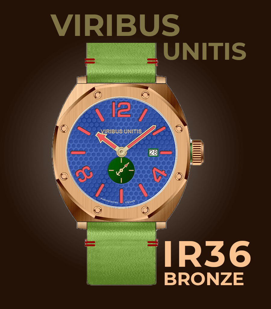 Viribus Unitis IR36 Bronze