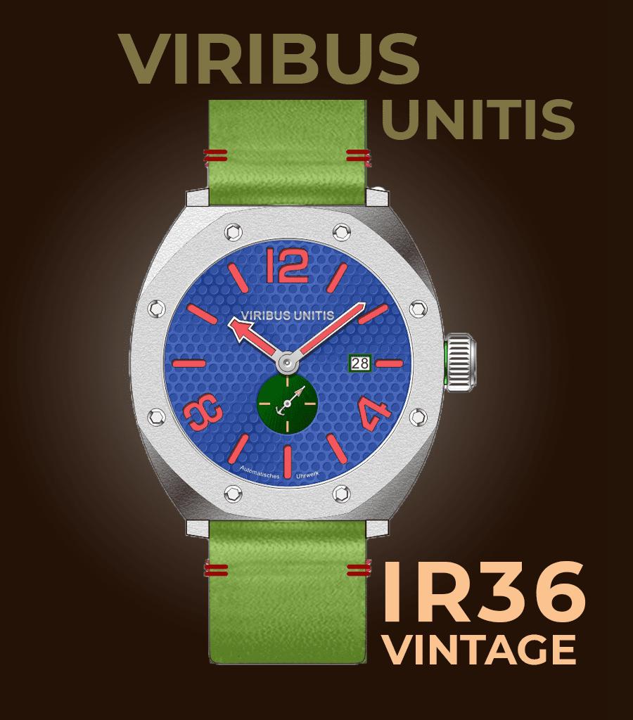 Viribus Unitis IR36 Vintage