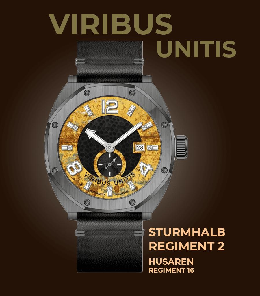 Viribus Unitis Sturm-Halbregiment 2 Husarenregiment 16
