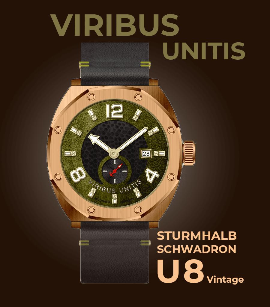 Viribus Unitis Sturmhalbschwadron U8 Vintage