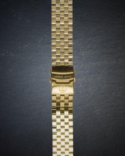 Uhrenbänder Stahl - PVD-Gold