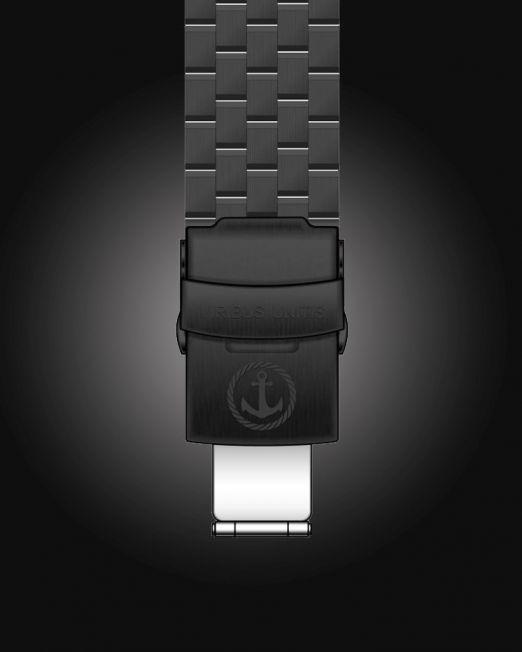 Uhrenbänder Stahl - PVD-Schwarz