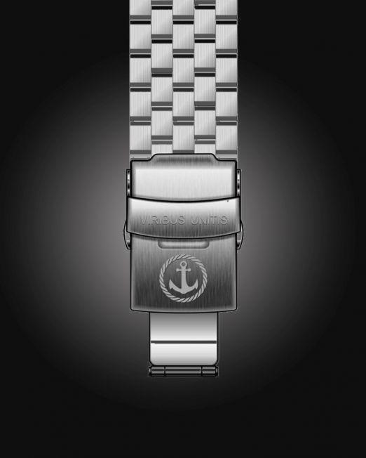 Uhrenbänder Stahl - gebürstet