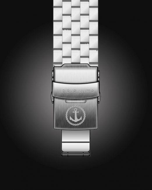 Uhrenbänder Stahl - kugelgestrahlt