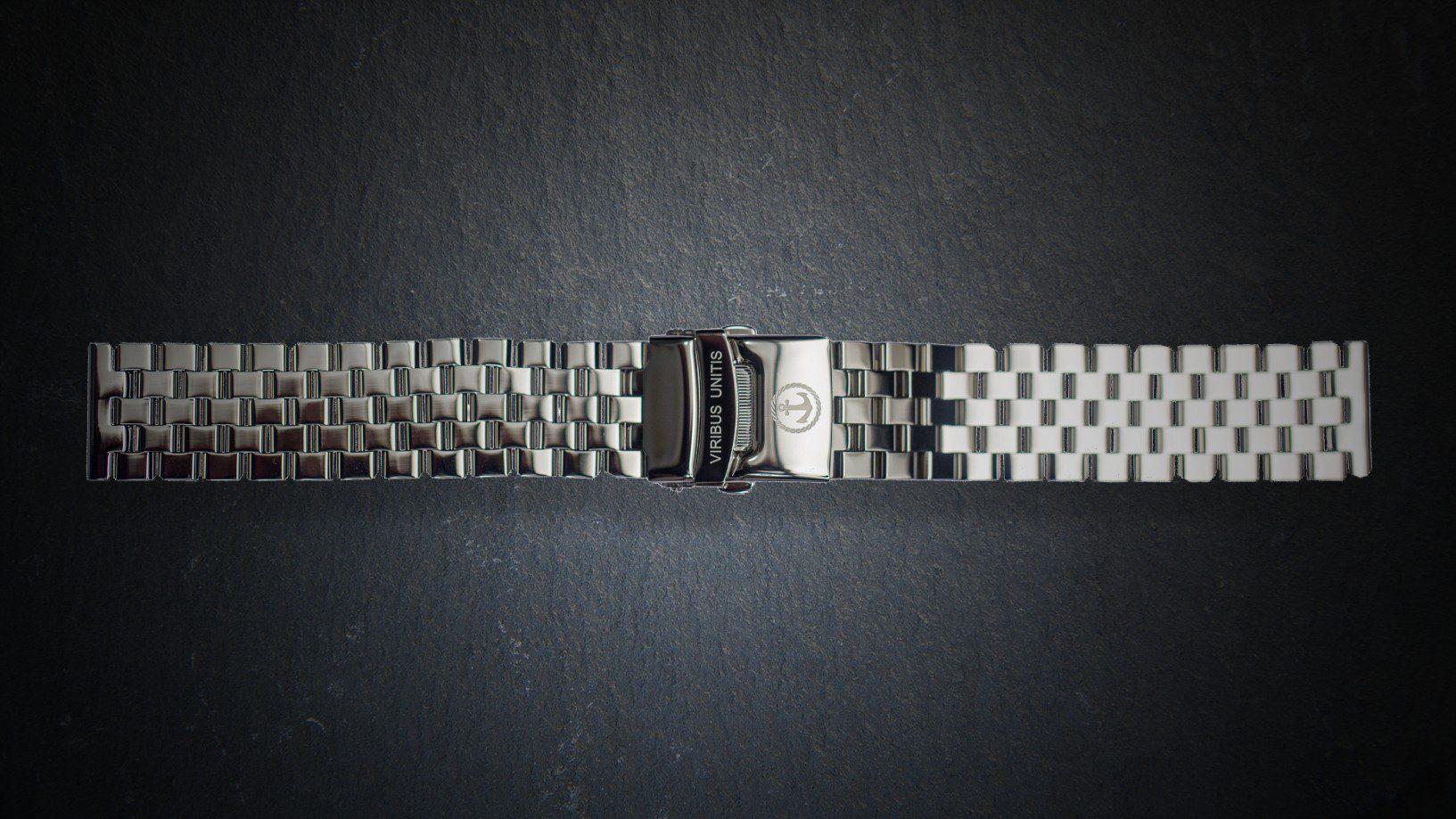 Uhrenbänder Stahl - poliert