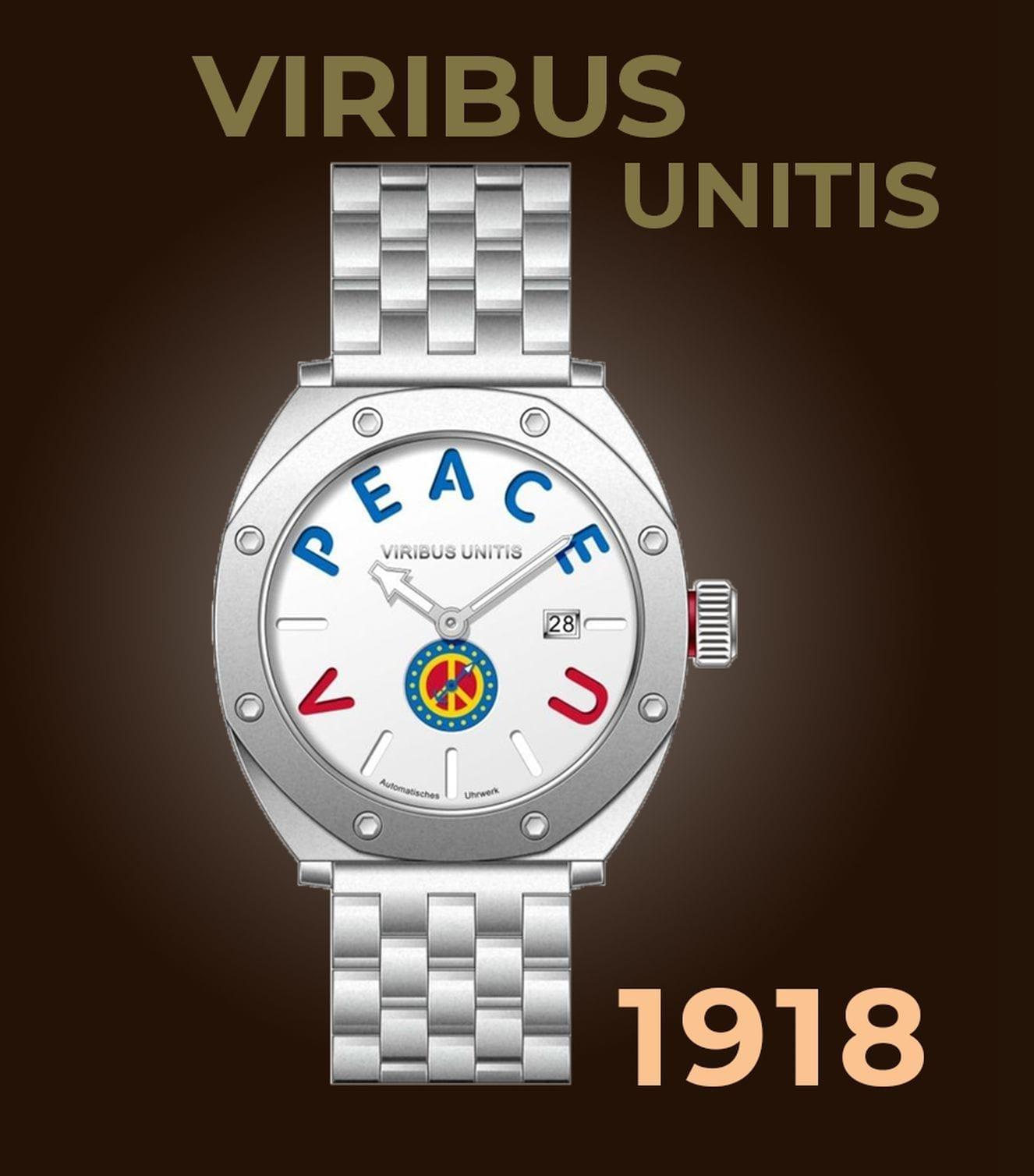 Viribus Unitis Watches 1918 Uhren aus Österreich