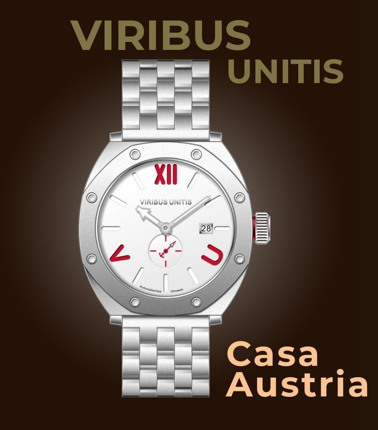 Viribus Unitis Watches Casa Austria Uhr