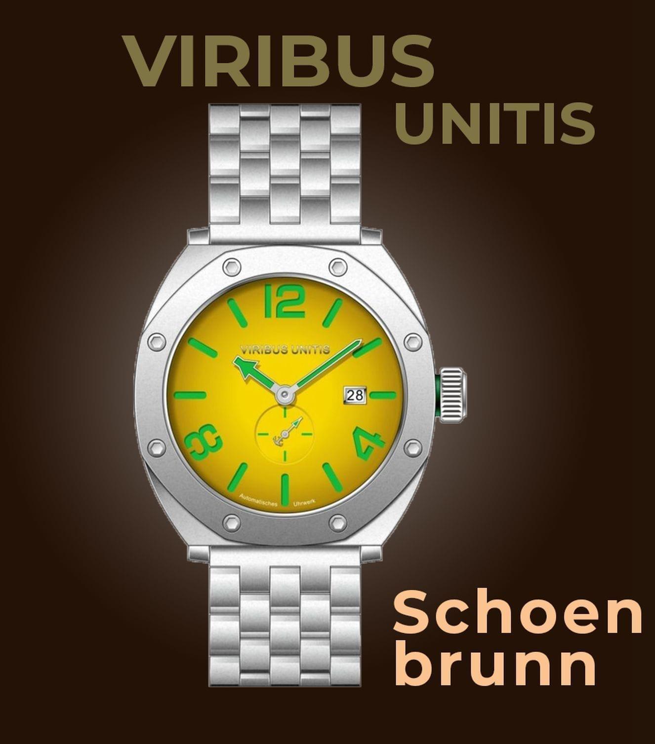 Viribus Unitis Watches Modell Schönbrunn